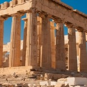 structures like the Parthenon play a role in the history of construction