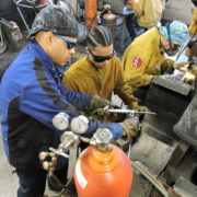 Shielding gas and gas cylinder, some of the basic welding tools and equipment