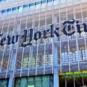 The New York Times Building, built by Renzo Piano who comes from an Italian family of carpenters