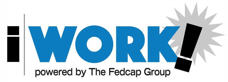 iWORK! powered by The Fedcap Group logo